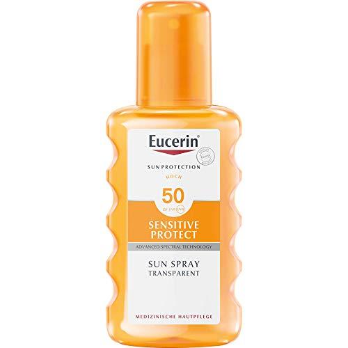 Eucerin Sun Spray Transparent LSF 50, 200 ml