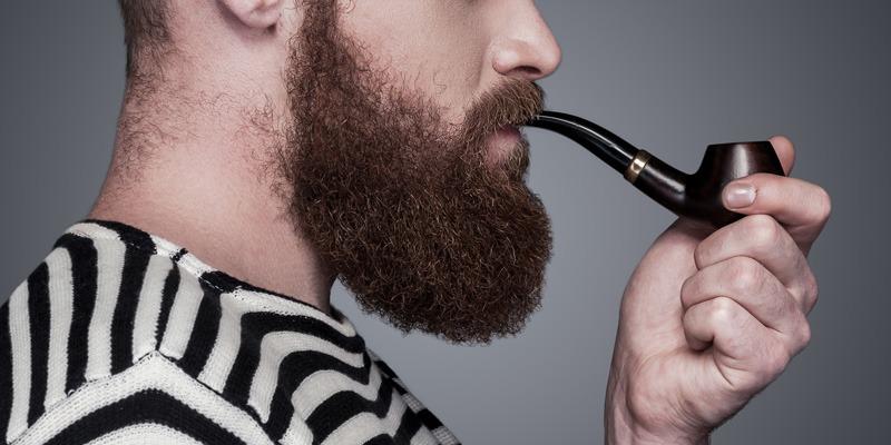 Bart trimmen: Die Wangenlinie