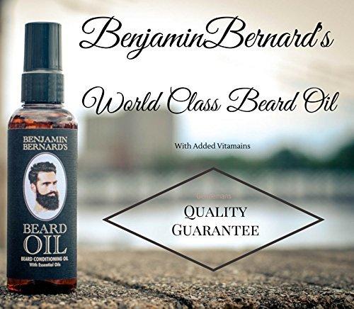Benjamin Bernard Bartöl und Conditioner für Männer, 100ml Flasche