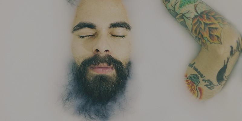Bart färben in fünf Schritten