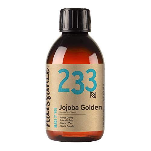 Naissance Jojobaöl Gold (Nr. 233) 250ml 100% reines, kaltgepresstes Öl